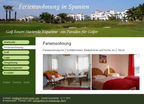 Golf Resort Spain - Ferienwohnung in Spanien